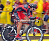 George Hincapie, a true veteran of the Tour, took 68th place at 54-seconds today...