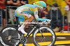 Alexandre Vinokourov placed 19th place at 38-seconds...