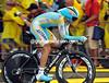 Defending Tour champion Alberto Contador took 6th place at 27-seconds...