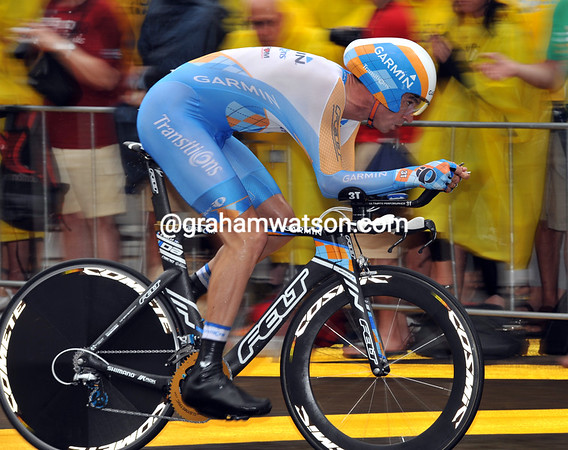 David Millar placed a briliant 3rd at 20-seconds today...