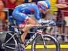 Fastman David Zabriskie was caught out by the rain in taking 25th place at 40-seconds...