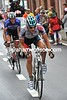 Roelandts has caught Chavanel after a treacherous descent into Stavelot - a series of crashes destroy's the peloton's pursuit...