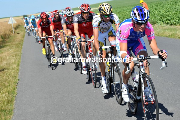 Lampre seem confident of chasing all on their own - is Petacchi up for another great sprint..?