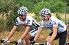 Time to talk - Geraint Thomas with Brett Lancaster...