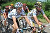 Geraint Thomas and Mark Cavendish have a few hours in which to chat...