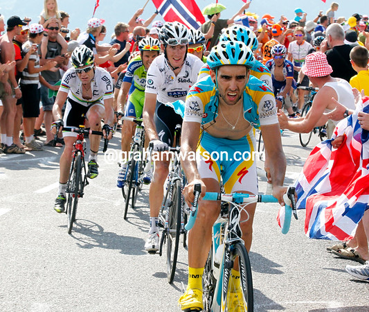 Astana has Daniel Navarro setting a brutal pace, it 'll signal the end of the road for many contenders...