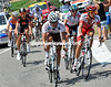 Christophe Riblon and Sebastian Minard are leading a seven-man escape away after a rapid start that saw Armstrong and Evans crash...