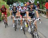 Saxo Bank has taken control of the chase from BMC - Chris Anker Sorensen drives up the pace...