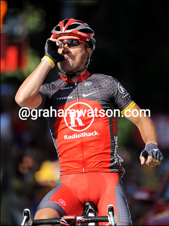 Sergio Paulinho wins stage ten into Gap - it is his and Radio Shack's first-ever Tour success..!