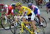 Andy Schleck is far from being under pressure as race-leader...