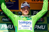 Alessandro Petacchi is the new Green jersey leader after today's sprint...