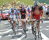 Armstrong is back in his element on the Tourmalet, even if it's hurting him more than it used to..!