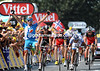 Pierrick Fedrigo wins stage sixteen after a regroupment in the last few kilometres - Armstrong settles for 6th place...
