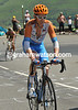 David Millar looks grim - he's lost over seven minutes on the Peyresourde but will survive the day...