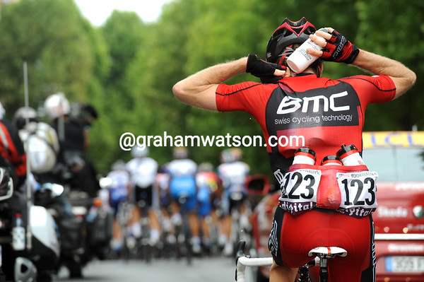 There's still work to be done for Brent Bookwalter, who's about to finish his first Tour de France...