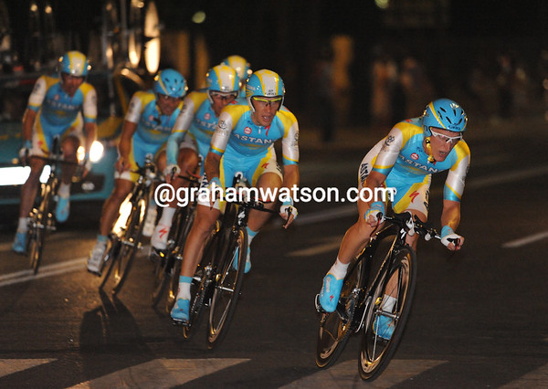 Enrico Gasparotto leads Astana to 20th place, 41-seconds down...