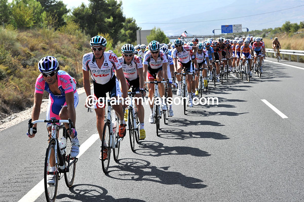 Lampre has taken the initiative to chase harder now..