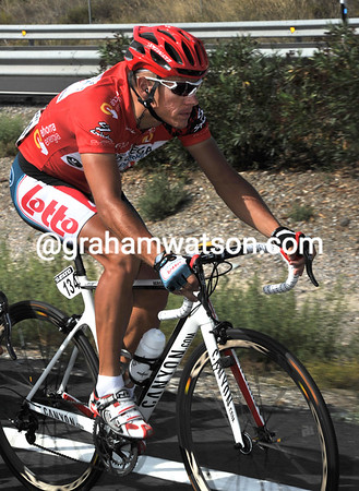 Thsi is unlikely to incovenience Philippe Gilbert...