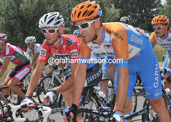 With time to talk, is Christian Vande Velde asking Frank Schleck for a place is his new team for 2011..?!