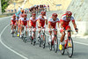 What's going on here? The Cofidis team has suddenly started chasing hard - but why..?
