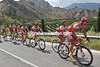 With Cofidis's efforts, the lead of the escape has come down from nine to four minutes in 30-kilometres...