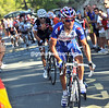 Rodriguez has accelerated, dropping Sastre but taking Nibali, Tondo and Anton with him...