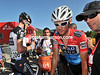 "Frank Schleck arrives 2'36"" down on Moncoutie - his Vuelta chances have been dealt quite a blow..!"