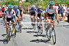 Fifteen riders have got away after 35-kilometres, they are led by Jean-Christophe Peraud and Biel Kadri...