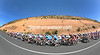 The peloton is alive and well as stage thirteen pulls away into the hills of Aragon...