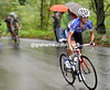 Barredo has launched his attack wiith 11-kilometres of climbing to go - he has about six minutes on the peloton...