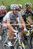 Nicholas Roche looks determined to protect his 5th place overall...