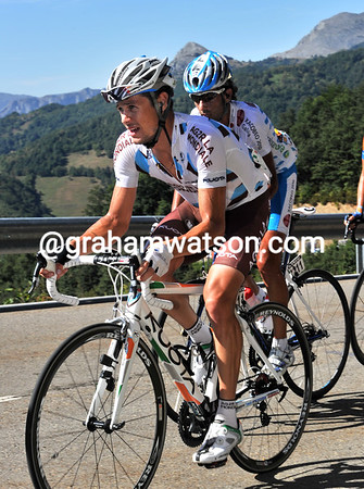 Nicholas Roche is still with the favourites...