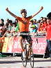 Mikel Nieve wins stage sixtee -  this one is definitely in honour of Igor Anton..!