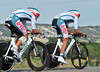 "Thanks to teamate Greg Van Avermaet, Phlippe Gilbert (No 134) took 9th at 1'24""..."