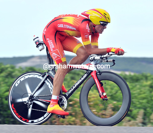 "Spanish champion Luos Leon Sanchez placed 5th at 1'03""..."