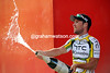 Cavendish is behaving himself on the podium today - what a shame..!
