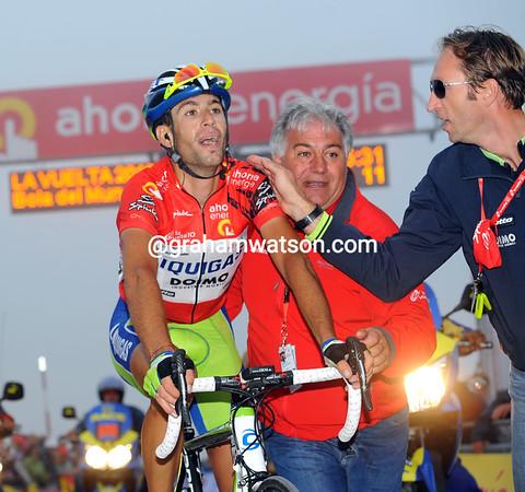 Vincenzo NIbali is the virtual winner of the 2010 Vuelta a España...