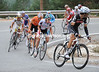 Inigo Cuesta leads the escape on to the Puerto de Navacerrada, shreding the group as he goes...