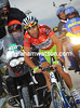Nibali is under pressure and giving his all to stay close - he's about 25-seconds down halfway up the steep ascent...