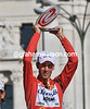 Vincenzo Nibali is the winner of the 2010 Vuelta a Espana...