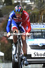 """Alex Dowsett's ride was ruined by a bike problem - he ended in 31st at 3'25""""..."""