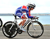 Emma Pooley won the Gold Medal this afternoon, at an average speed of 42-kilometres per hour...