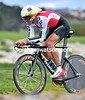 Fabian Cancellara produced another superb performance to win Gold, at a speed of 47-kilometres-per-hour...