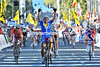 Giorgia Bronzini wins the Gold medal, ahead of Marianne Vos and Emma Johansson...