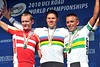 Hushovd, Breschel and Davis are on top of the world..!