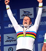 Viking thunder - Thor Hushovd celebrates a sensational day's racing...