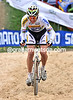 Stybar shows his strength by riding through the sand on the penultimate lap - no-one else has managed that today..!