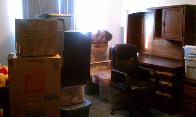 My office/study/sewing/art room - gonna take awhile to get this room done