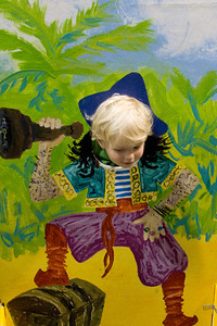 Quinton as a pirate