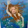 Beverly as a mermaid